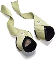 Weightlifting Wrist Support Straps by LOCK-WOOD - Lift Heavier & Secure Your Grip for Deadlifts, Chin-ups,