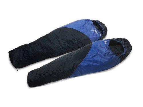 High Peak Sirius Simex Sport Sleeping Bag – Blue with Stuff Bag:2 Pack, Outdoor Stuffs