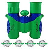 Binoculars for Kids by ivy Concepts -8X21 Compact for Bird Watching, Hunting, Wildlife, Science, Hiking, Outdoor Learning Mini Fun Toy, Birthday Present for Children, Toddlers, Boys & Girls (0.38 lbs) For Sale