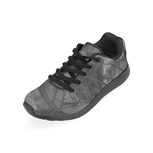 Artsdd Essence Noir Personnalisé Nouvelles Chaussures De Course Pour Les Femmes