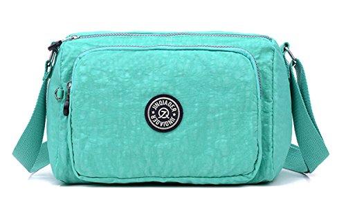 Green TianHengYi Lightweight Nylon Bag Cross Water body U1 Bag Fabric Small Resistant Messenger Shoulder Women's 168rC1wqx