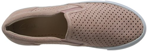 Clarks Glove Puppet, Mocasines para Mujer Rosa (Dusty Pink)