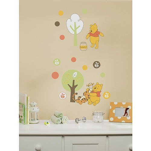 Kidsline Disney Sweet Pooh Collection Wall Decals
