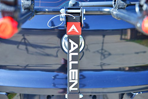 Allen Sports Deluxe Locking Quick Release 2-Bike Carrier for 2 in. & 1 4 in. Hitch by Allen Sports (Image #4)