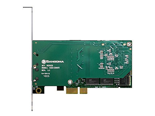 Sangoma A101E AFT Single T1 E1 Data Streams PCIE Asterisk Voice Card by Sangoma