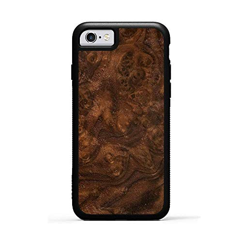 CARVED Walnut Burl iPhone 6/6s Traveler Case