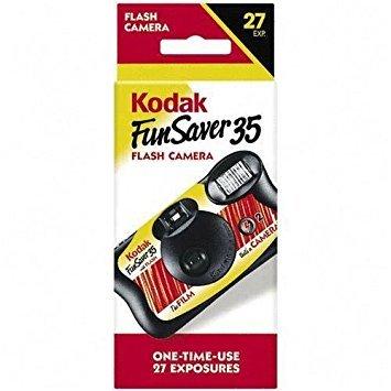 Kodak FUNSAVER 35 Disposable 35mm Camera by KODAK