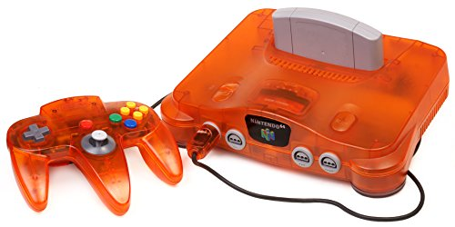 Nintendo 64 System – Video Game Console – Fire