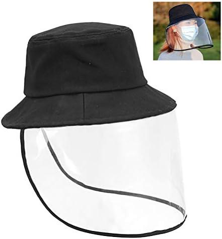 Anti-Spuck-Schutzmütze für Fischer im Freien Fischerhut Mund Kopf Gesichtsschutzkappe Nicht abnehmbar