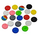 VizGiz 20pcs Rubber Silicone Analog Controller Thumb Stick ThumbStick Grips Skin Cap Protector Covers for PS3 PS4 Accessories PS2 Play Station Playstation 2 3 4 PS Controller for Xbox 360 One (10Pair) Review