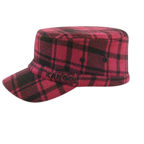 ff4f4ddc885 Amazon.com  Kangol Kid Twill Stitch Plaid Flexfit Army Cap  Clothing