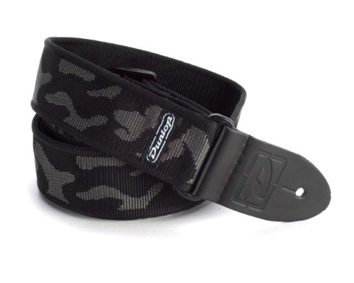 Dunlop D3810GY Cammo Gray Strap