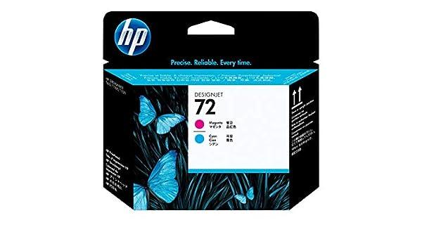 Tinta Original HP Nº 72 Pack 2 Colores Magenta Y Cyan para HP DESIGNJET T610, T620, T770, T1100, T1200, HP DESIGNJET T1200 HD Multifunction Printer, HP DESIGNJET T2300 EMFP, HP DESIGNJET T790,