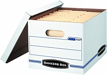 12-Pack Bankers Box Storage Box