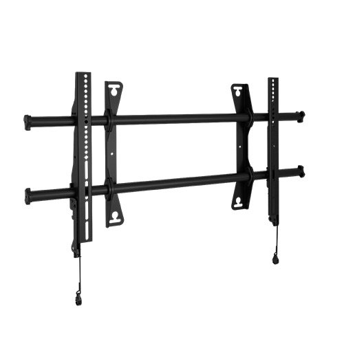 """Chief LSA1U FUSION Large Fixed Wall Display Mount, 200 lb Weight Capacity, 37-63"""" Screen Size, 17.93"""" H x 34.75"""" W x 2"""" D, Black"""