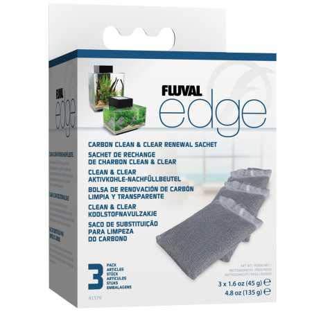 Fluval Edge Carbon Renewal Sachets (3 Pack)