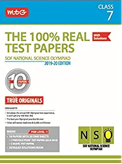 Buy National Science Olympiad (NSO) Workbook - Class 7 Book