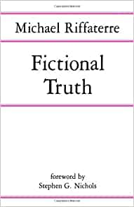 michael riffaterre fictional truth pdf