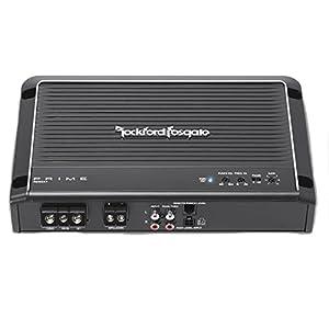 Rockford Fosgate R250X1 Prime 250 Watts 1-Channel Mono Block Amplifier + 4 Gauge Amp Kit