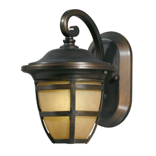 Triarch 78190-14 Fluorescent Outdoor Sconce, Oil Rubbed - Sconce Outdoor Triarch Lighting