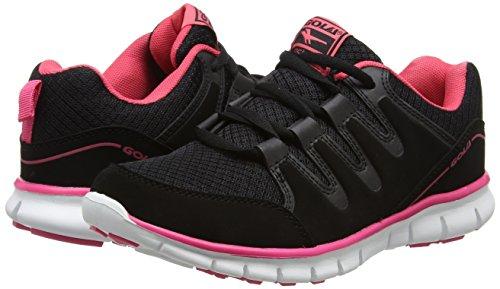 Donna Nero black Scarpe Corsa Termas Da 2 pink Gola nx7fSqCw