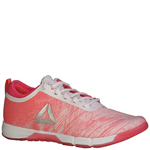 Reebok Women's Speed Her Tr Cross Trainer Pale Pink-acid Pink-white