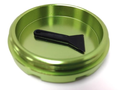 Hush Crush 2'' 4-Piece Magnetized Tobacco Herb Grinder - Lime Green by Hush Crush (Image #6)