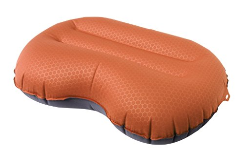 Exped AirPillow Lite - Inflatable Travel Pillow, Terracotta, Large (Inflatable Throw Pillow)