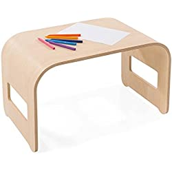 Magic Cabin 866767 Wood Lap Desk, 19-1/2W x 12L x 12H, Natural