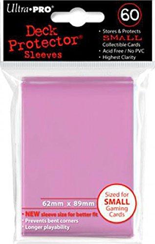 Small Ultra Pro Pink Deck Protectors