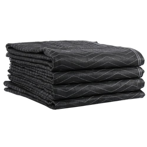 4 Performance Moving Blankets Set of 4 72x80'' Heavy Duty Professional