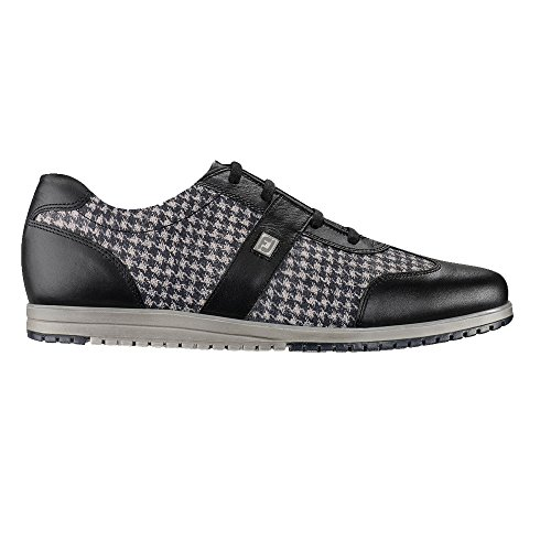 FootJoy Ladies Casual Collection Spikeless Golf Shoes Black 5.5 Medium Closeout (Footjoy Ladies Lopro Casual Spikeless Golf Shoes)