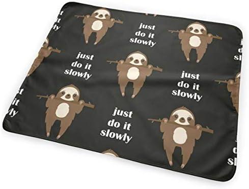 Just Do It Slowely 小さいながらも軽くて柔らかく快適な折り畳みが簡単なハイエンドのファッションシンプルなポップ絶妙なおむつパッド