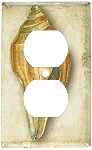 Art Plates - Sea Shell Switch Plate - Outlet Cover