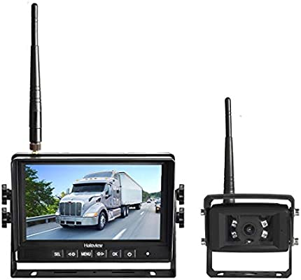 "DIGITAL WIRELESS REAR VIEW BACKUP CAMERA SYSTEM 7/"" LCD FOR RV CAMPER TRAILER"
