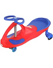 Baby Land Push Ride-On Swing Car for Kids - Red Blue
