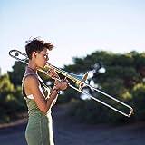 Eastrock Trombone Bb Tenor Slide Gold Trombone