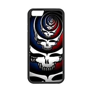 Grateful Dead Cell Phone Hard Case for iPhone 6(4.7) Plastic and TPU (Laser Technology) wangjiang maoyi