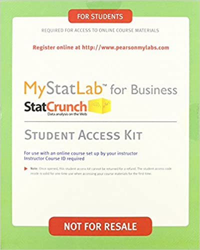 Business statistics student value edition plus new mystatlab with business statistics student value edition plus new mystatlab with pearson etext access card package 9th edition david f groebner 9780321869531 fandeluxe Image collections