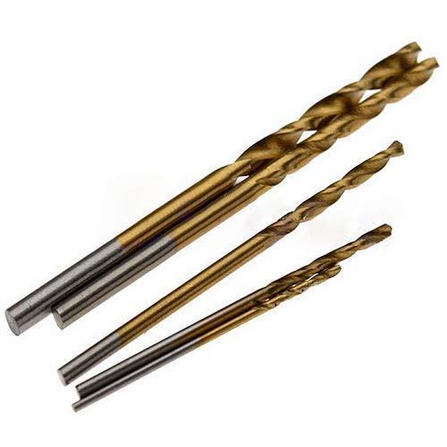 de ACENIX/® pl/ástico y acero de cobre de aluminio 2 mm 3,5 mm tama/ño m/étrico Juego de 60 brocas de acero HSS de alta velocidad para madera 1 mm 2,5 mm 1,5 mm 3 mm