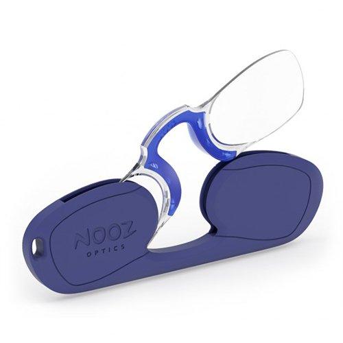 Nooz - Armless Reading Glasses - Navy-Blue +2,5 Rectangular - Wherever you go