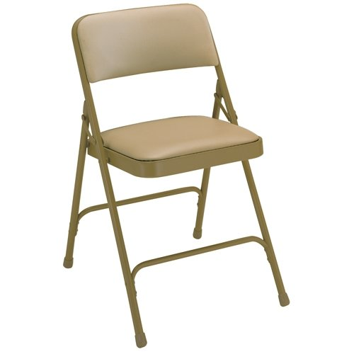 National Public Seating 2201 Premium Fabric Folding Chair, 2
