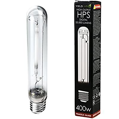 Yield Lab HYDROPONIC High Pressure Sodium (HPS) Grow Light Lamp Bulb