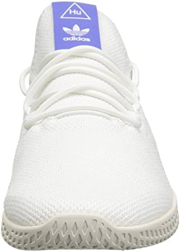 adidas Originals Men's Pw Tennis Hu Running Shoe, White/Chalk, 7.5 M US