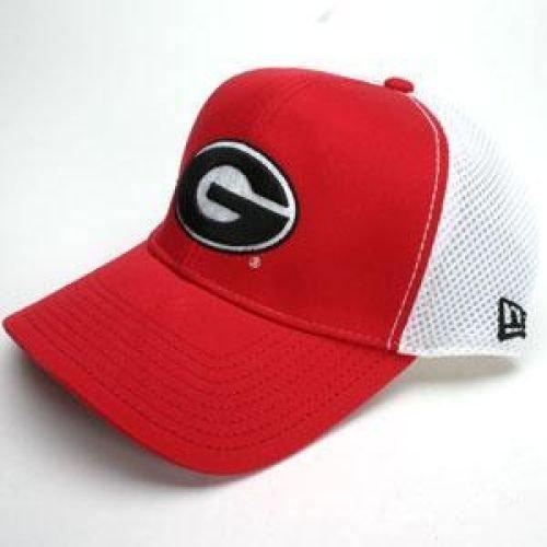 嵐コンバーチブル移民Georgia Bulldogs New Era Semester帽子