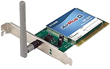 D-Link AirPlus G DWL-G510 Wireless Adapter Driver Windows XP