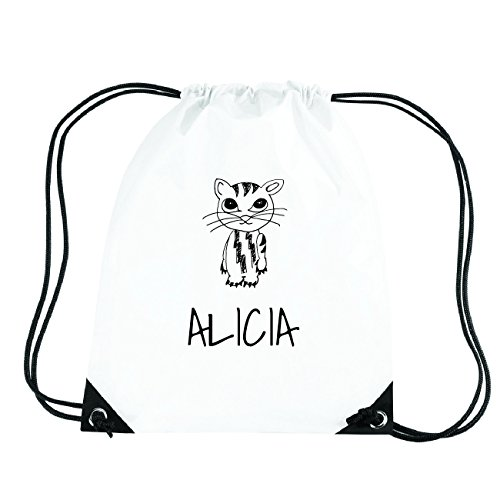 JOllipets ALICIA Turnbeutel Sport Tasche PGYM5103 Design: Katze d3Bx9