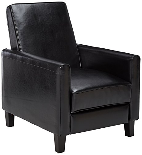 Best Selling Davis Leather Recliner Club Chair Black  sc 1 st  Amazon.com & Small Reclining Chair: Amazon.com islam-shia.org