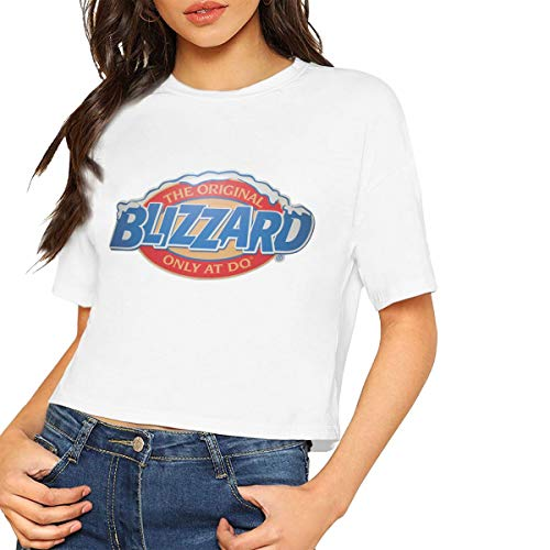 Customized Women Dairy Queen Ice Cream Logo Short Tee for sale  Delivered anywhere in USA