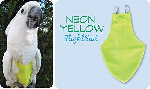 Large FlightSuit (Bird Diaper) w/Lanyard plus Flightliners (Yellow)